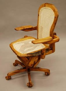 Aeron wood chair