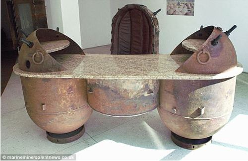 bomb table