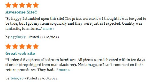 madison seating reviews