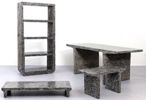 Furniture Made From…Old Elle Magazines!?