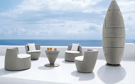 Futuristic Lawn Furniture