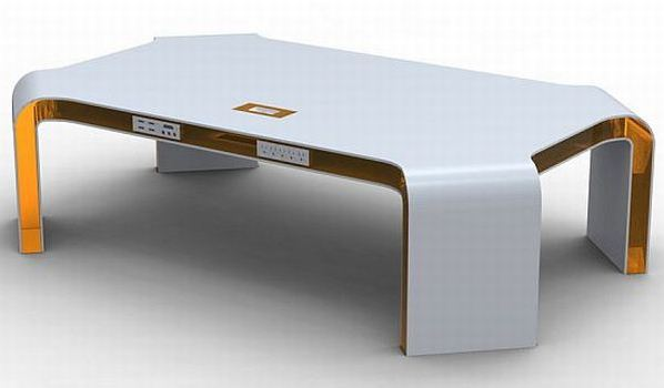 Hi-Tech Functional Coffee Table Concept