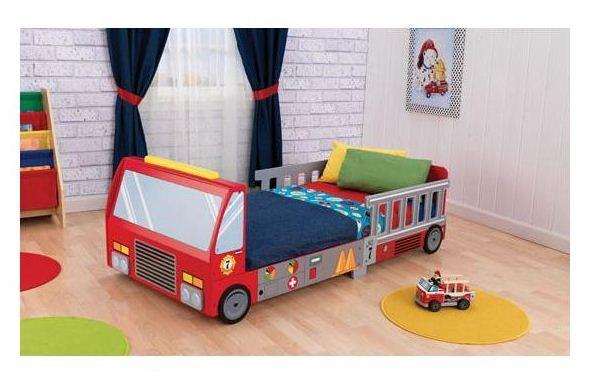KidKraft Fire-Truck Bed