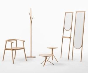 SPLINTER Furniture by Nendo