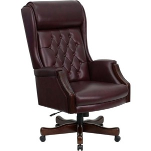 Madison Seating Featured Product:Tufted Leather Office Chair by Flash Furniture