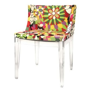 Fiore Floral Accent Chair