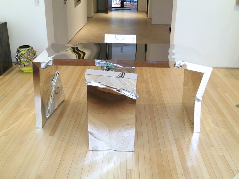 invisible table and chairs