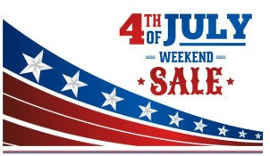 4th of July Weekend Sale