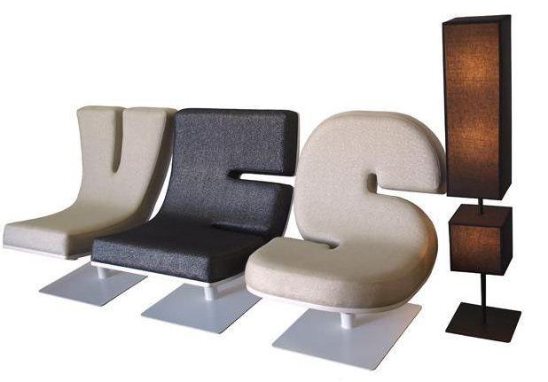 Alphabetic Furniture