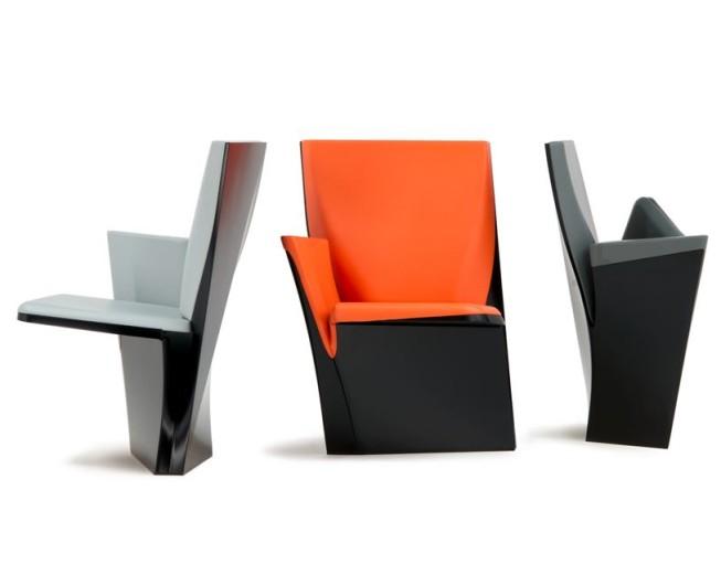 Milan Design Week 2013: The Future of Auditorium Seating by Zaha Hadid